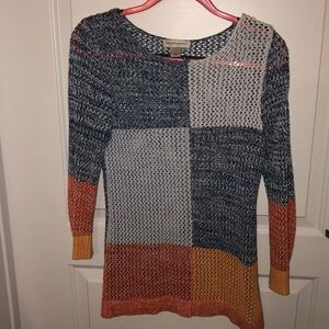 Christopher and Banks 3/4 sleeve Sweater